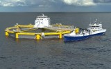 Global Maritime design for offshore salmon farm