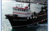 Half Moon Bay, one of Icicle's fishing vessels