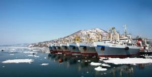 Okeanrybflot vessels Russian pollock